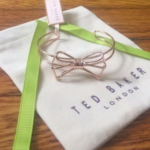 Ted Baker Rose Gold Bow tie Bangle